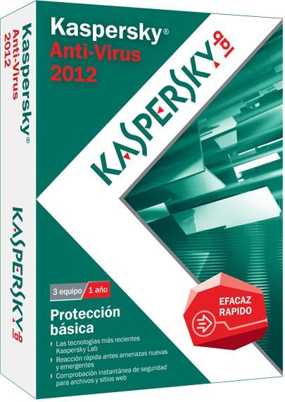 Kaspersky Anti-Virus 2012 en Español