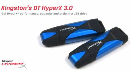 Kingston anuncia DataTraveler HyperX 3.0. Su memoria USB más rápida