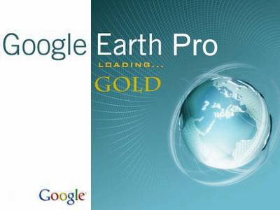 Google Earth Pro Gold 2012