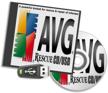 AVG Rescue CD para USB