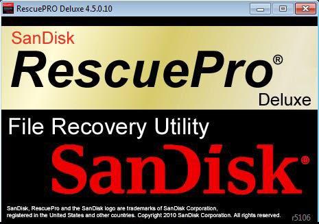 SanDisk RescuePRO Deluxe