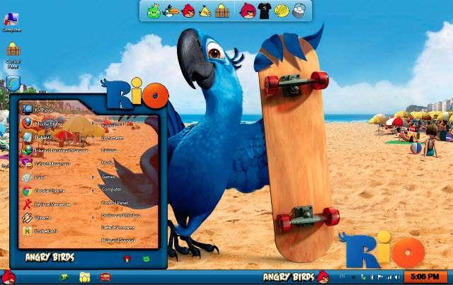 Descargar Angry Birds Skin Pack v.1.0