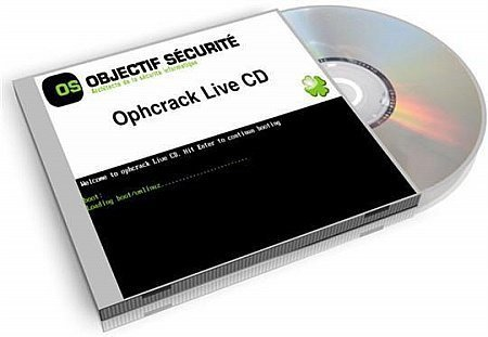 Ophcrack LiveCD