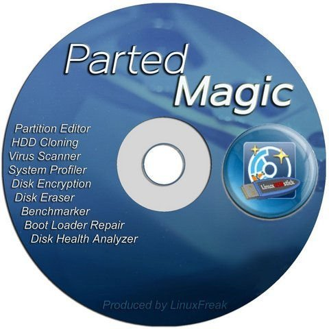 Parted Magic Live CD