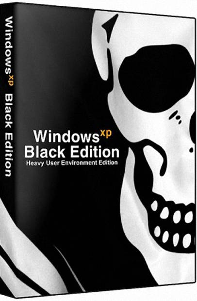 windows xp sp3 black edition
