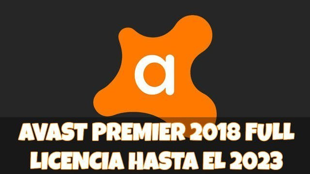 licencia para avast premier 2018