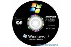 Windows 7 MiniOS v2019.07.1. Ultimate. TEU. ISO. 32 y 64 Bits