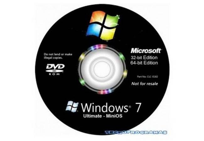 Windows 7 MiniOS Ultimate