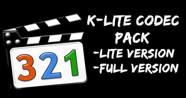 K-Lite FULL Codec Pack