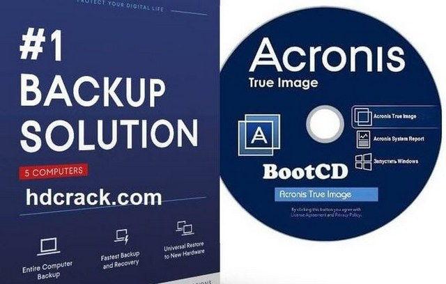 Acronis True Image ISO Backup