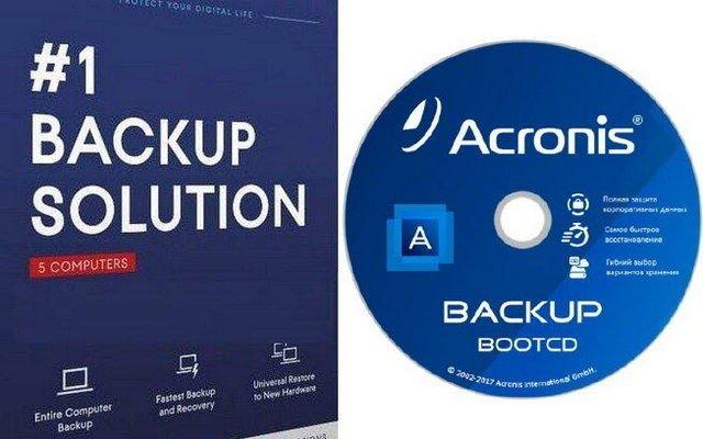 Acronis Backup BootCD ISO