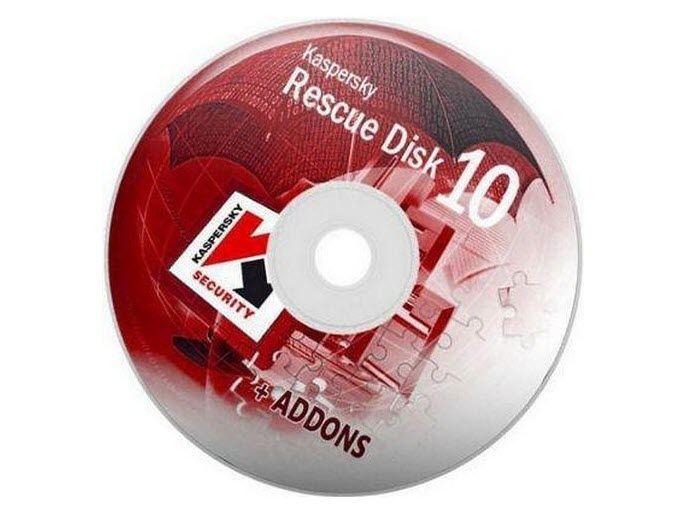 Kaspersky Rescue Disk + Herramientas