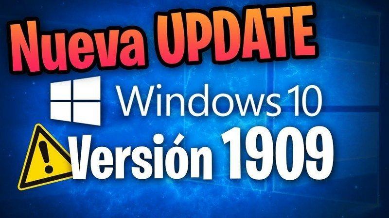 Windows 10 19H2 October Update